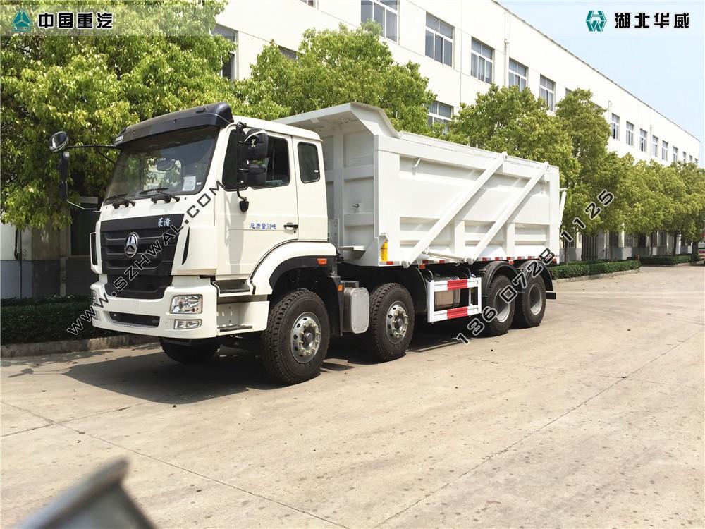 重汽自卸式对接式垃圾车