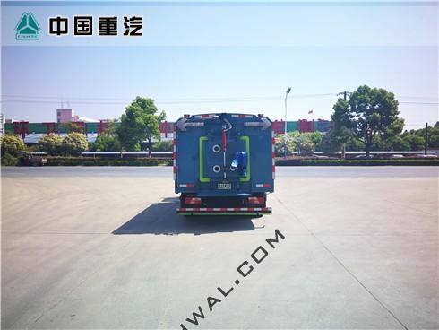 江铃凯锐N800扫地车(国六)后