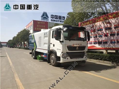重汽豪沃T5G扫路车(国六)
