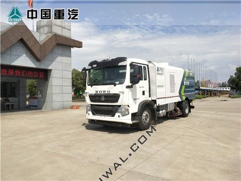 重汽T5G大型竞博体育app车(国六)左45h