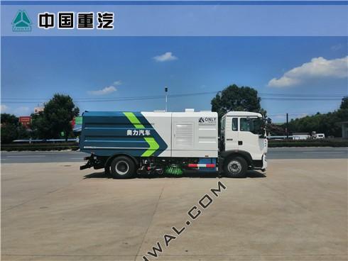 重汽T5G大型洗扫车